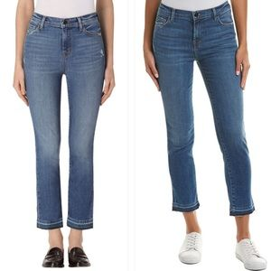 J Brand Ruby High Rise Cropped Jean in Virtuosity